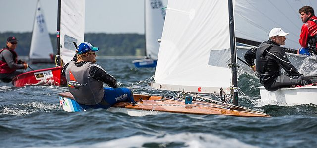 Sven Beye auf der Kieler Woche